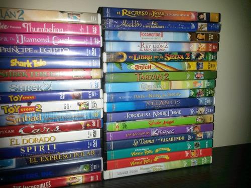 películas dvd originales animación infantil disney y otros