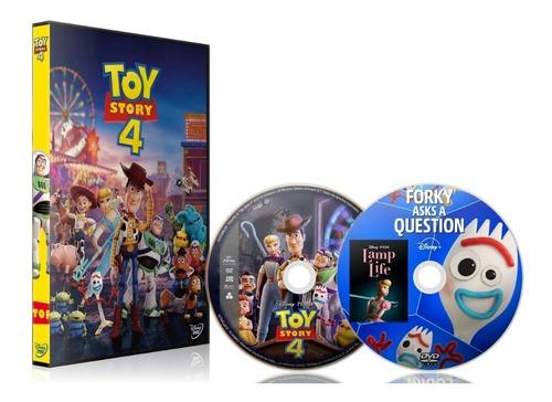 películas dvd toy story 1-2-3-4 + sus cortometrajes