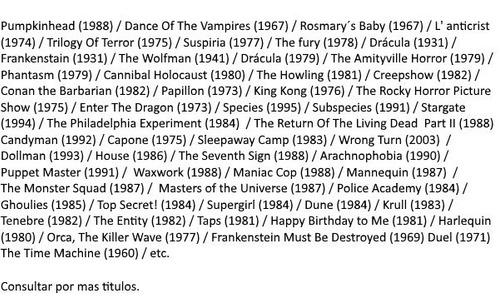 películas en bluray clásicos rarezas