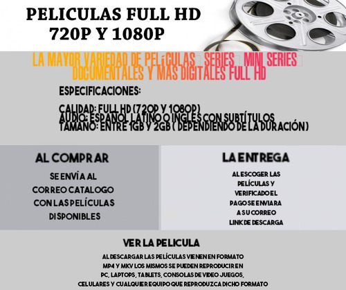 películas full hd digitales (series, documentales)