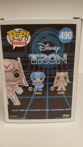 Disney Tron Sark brillan en la oscuridad Pop figura De Vinilo Nuevo Y En Stock Funko Pop