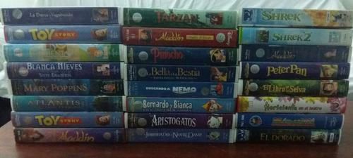 películas infantiles en vhs