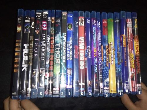 peliculas marvel 22 dvd, incluye avengers endgame