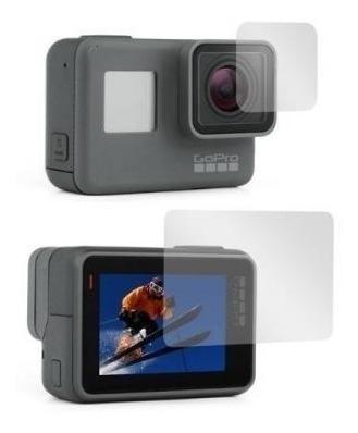 películas para lentes tela lcd gopro hero 5 6 7 hero black