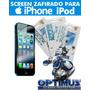 Screen Zafirado Protector De Pantalla Iphone 5 4 Ipod Touch