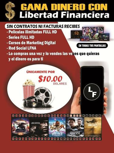 películas, series y cursos online