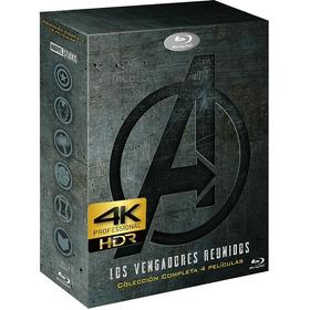Peliculas The Avengers Saga 4k Uhd Entrega Inmediata Digital