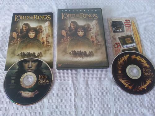 peliculas trilogia el señor de los anillos dvd