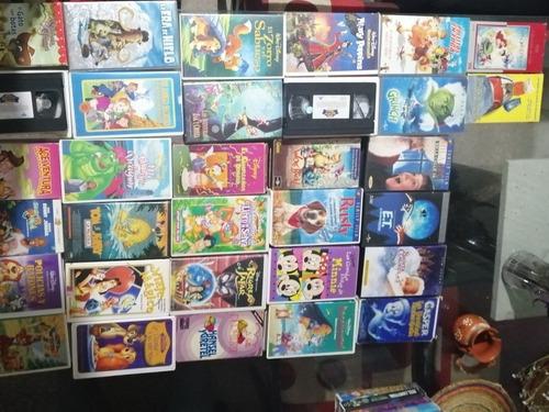 películas vhs para niños 32 piezas