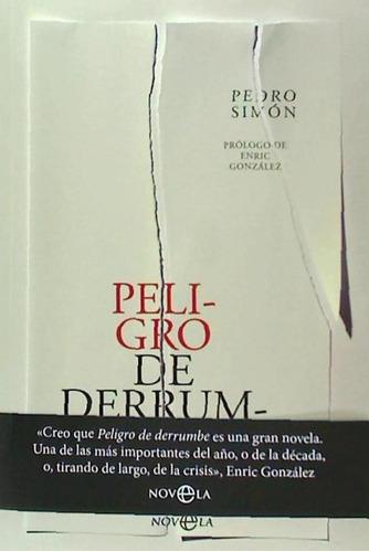 peligro de derrumbe(libro novela y narrativa)