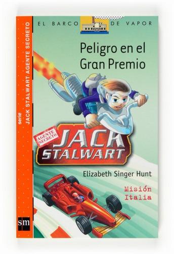 peligro en el gran premio : misión italia(libro infantil y j