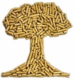 pellets madera biomasa leña carbon calefaccion estufa