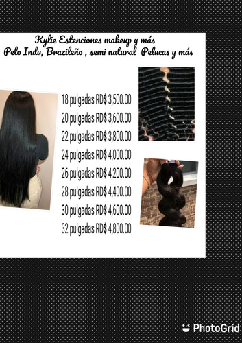 pelo humano de la mejor calidad