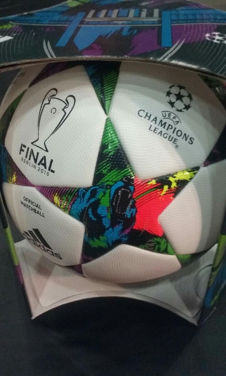 pelota adidas finale berlin 2015 en caja. oficial match!! Cargando zoom. 48660dd20517d
