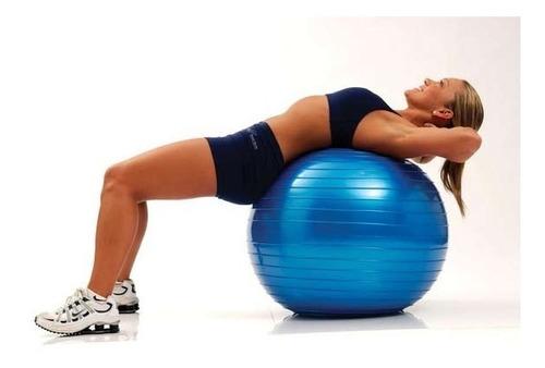 pelota balon 75 cm pilates yoga + inflador pelotas