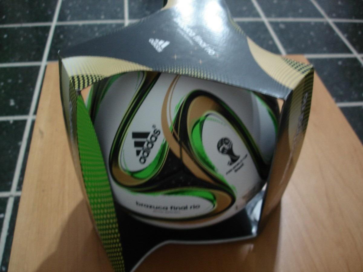 ... pelota balon adidas brazuca final rio omb mundial 2014. Cargando zoom. 72db2543767a9