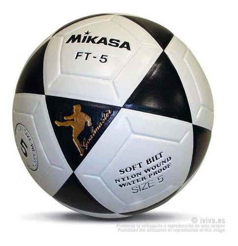 pelota balon de futbol profesional nº 5 mikasa ft-5 original