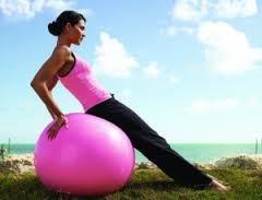pelota balon de yoga pilates ejercicios fitnes de oferta