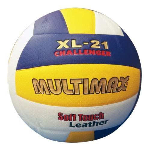 pelota balon voley multimax  oficial cuero sintético mva-330