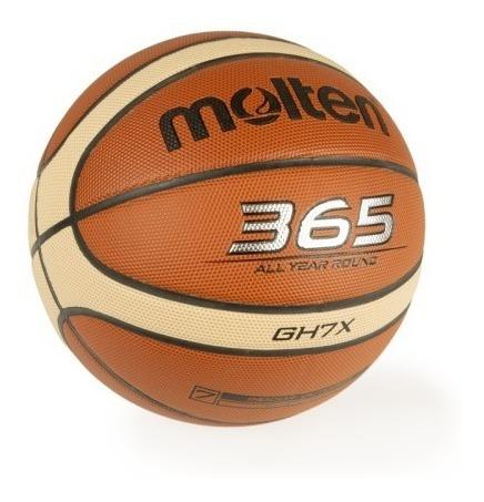 pelota basquet molten gh7x profesional basket n° 7 lnb