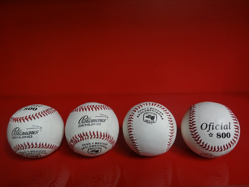 pelota beisbol oficial palomares diamante x unidad