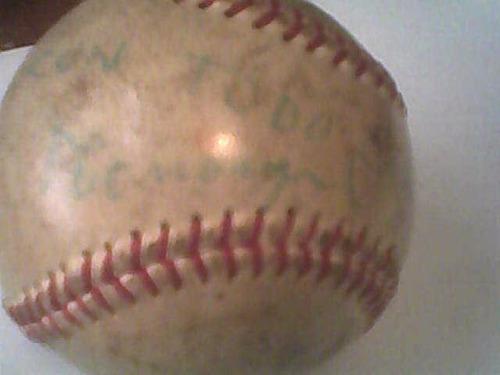 pelota beisbol por