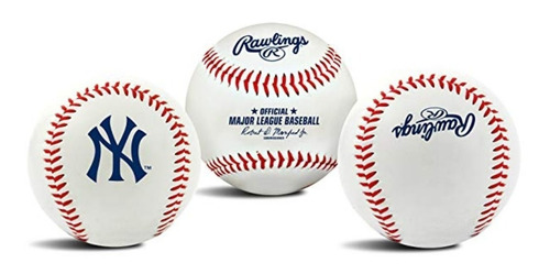 pelota beisbol yankees new york rawlings oficial mlb