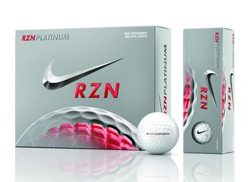 pelota bola de golf nike rznplatinum gl0654 (set 3 pelotas)