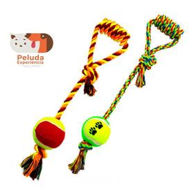 Pelota Con Cuerda Perros - Unidad a $21500