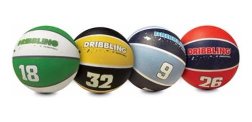 pelota de basquet drb dribbling fama- nro 3 -consultar color