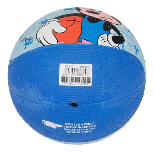 pelota de basquet infantil disney mickey minnie numero 3