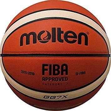 Pelota De Basquet Molten Gg7x Cuero Liga Oficial Fiba Oferta ... 38526bb7d3672