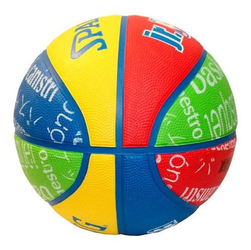 pelota de basquet  nº 5 junior infantil colores  spalding