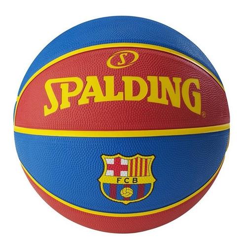 pelota de basquet spalding logoman soft grip n7 rubber