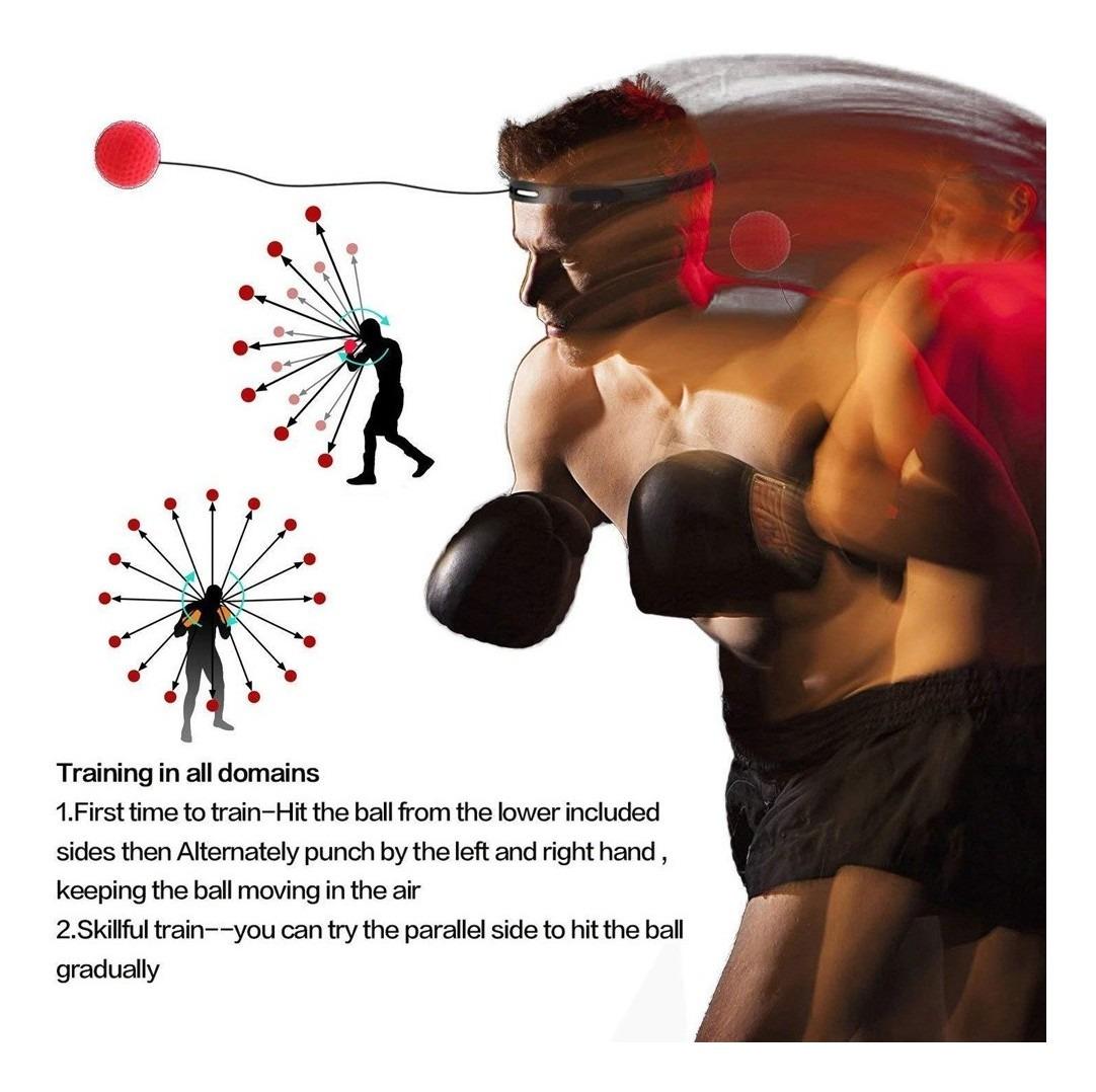 de Silicona HAILIDA Pelota de Entrenamiento Boxeo con 3 Pelotas de Boxeo para Entrenamiento de Velocidad y Respuesta