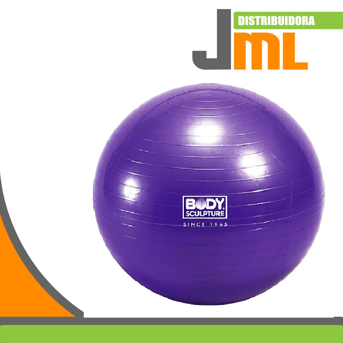 pelota de ejercicio yoga o pilates 26  65 cm body morada. Cargando zoom. e84353a9321d