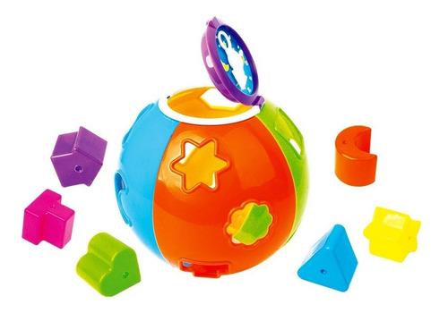 pelota de ensartes para bebé sonaja