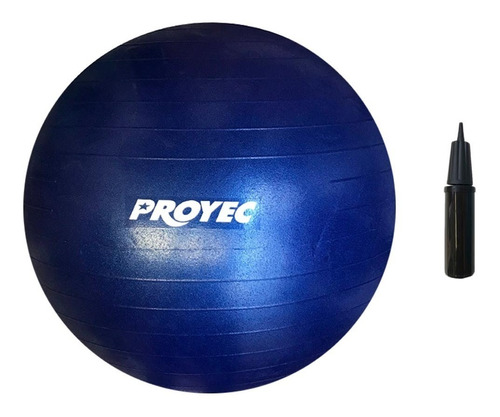 pelota de esferodinamia 75 cm yoga / pilates con inflador
