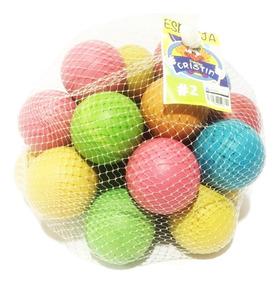 9d87f547e Pelota De Esponja De 2 Pulgadas Redes Con 25 Bolas Colores