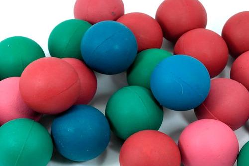 pelota de esponja de 2 pulgadas redes con 25 bolas colores