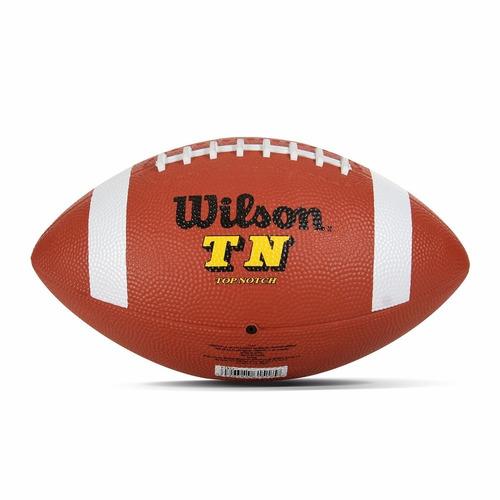 pelota de fútbol americano wilson oficial intermedio size