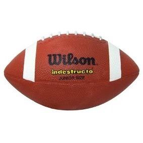 pelota de fútbol americano wilson oficial junior size