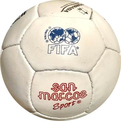 pelota de futbol de cuero cromo años 60 x 10 unidades