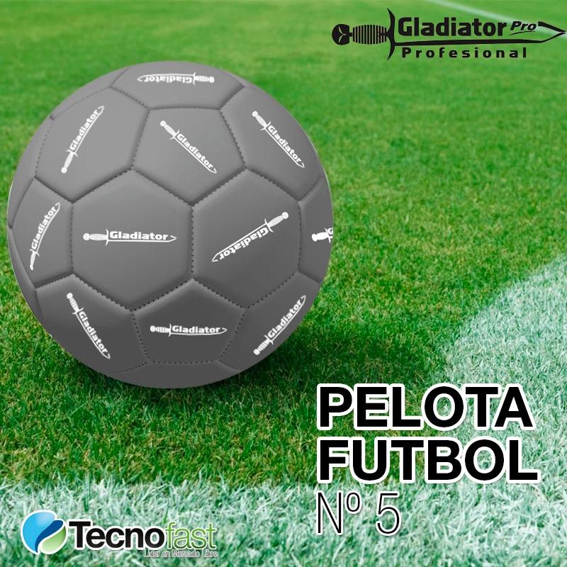pelota de futbol gladiator cuero sintetico numero 5. Cargando zoom. 6130460cb55ab