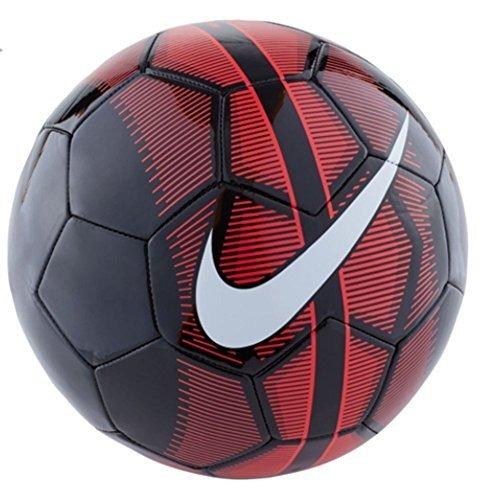 Pelota De Futbol Nike Mercurial Fade Soccer Ball (black red ... b1fdc04680742