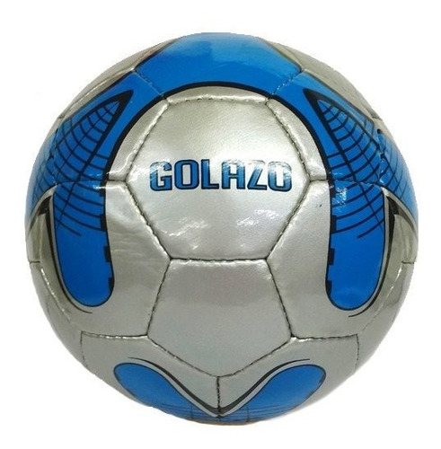 pelota de futbol nro 5 golazo metalizada cosida a mano 503