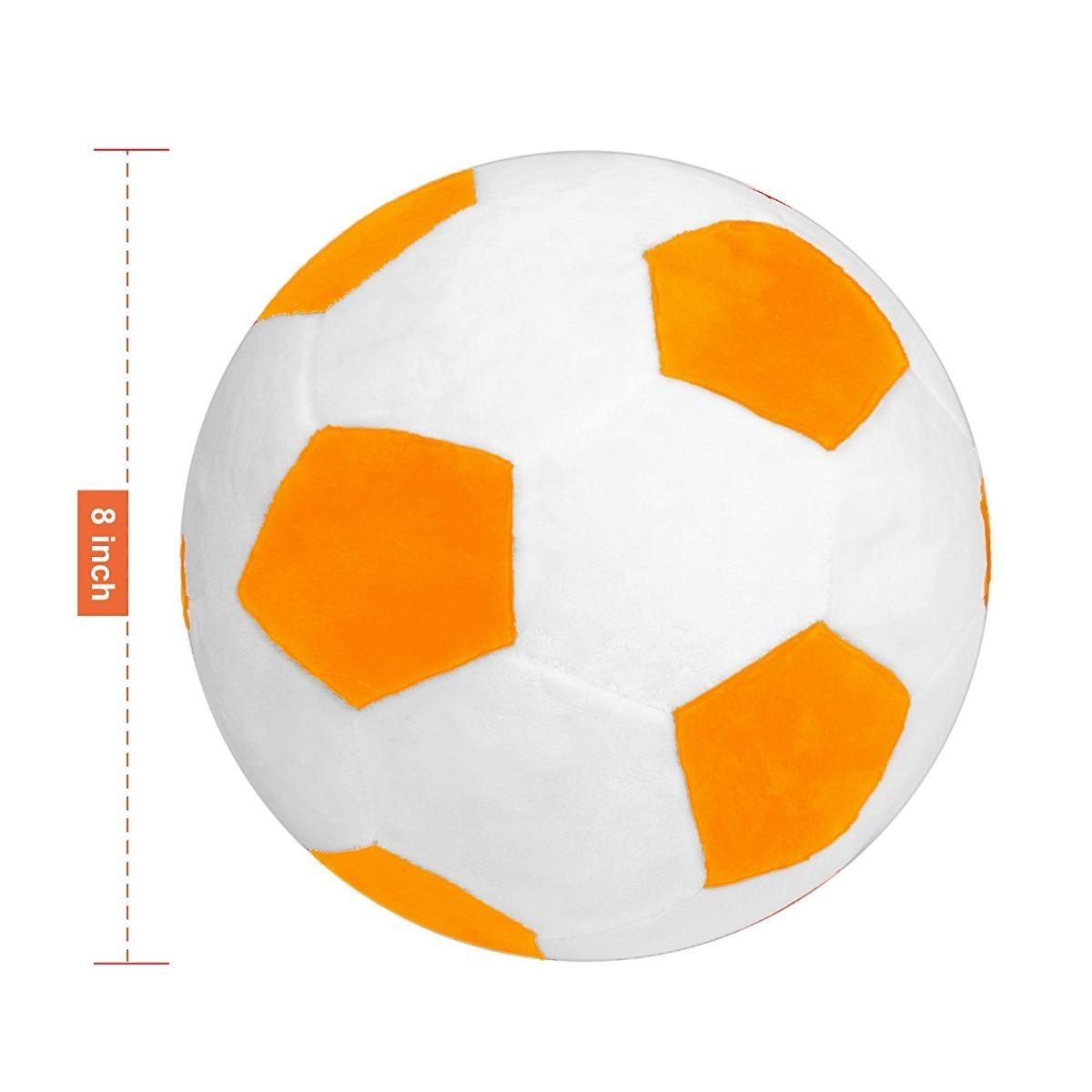 Pelota de futbol para niños blanco naranja cargando zoom jpg 1200x1200  Naranja pelota futbol 66ad0012d98ab