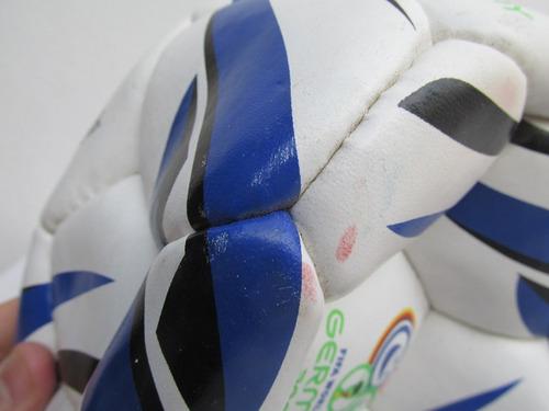 pelota de futbol publicidad gillette mundial 06' #l