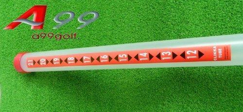 pelota de golf claro clikka recoger plástico 20pcs tubo ret