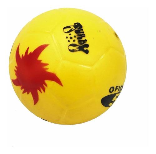 pelota de goma turby todoterreno n°5 fultbol voley basquet